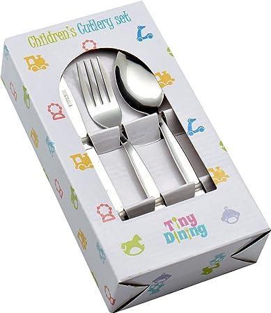 Amazon.com: Tiny cubertería de 36 piezas para niños (12 ...