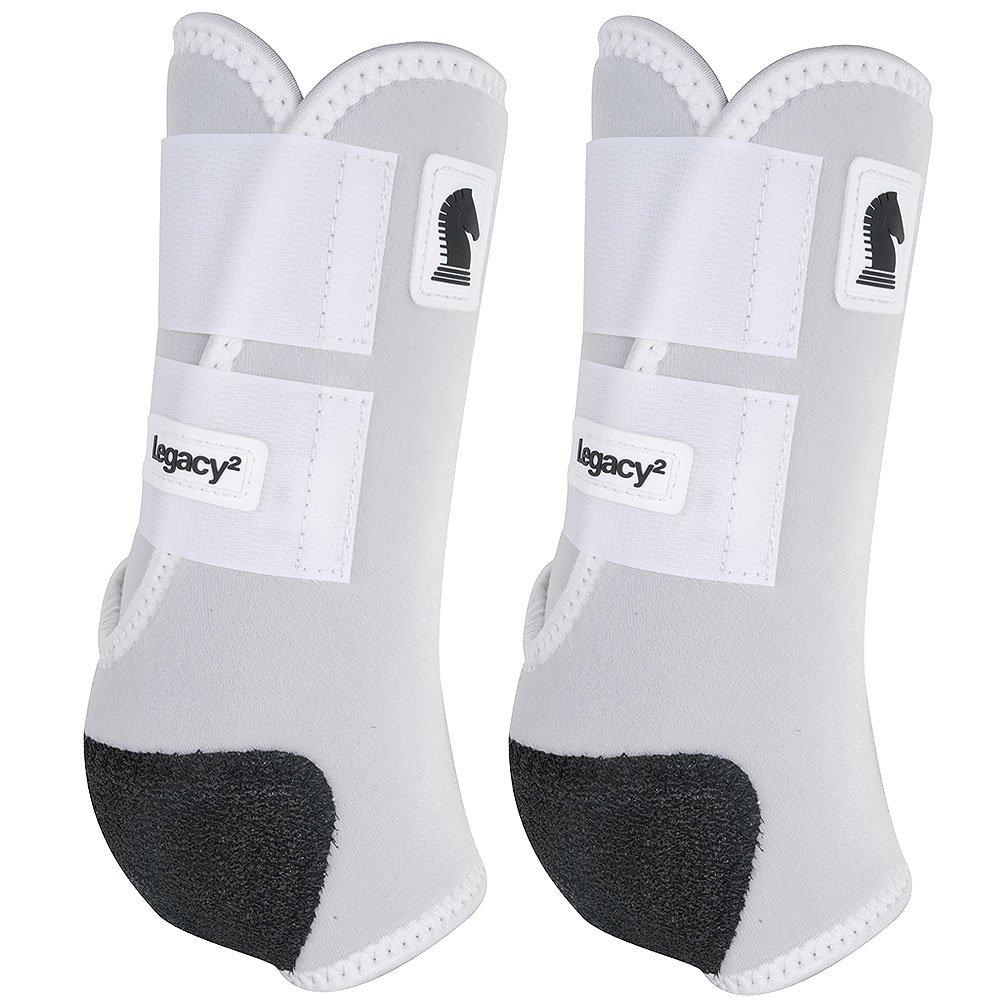 クラシックロープ会社legacy2 Hind保護ブーツ2パックSホワイト