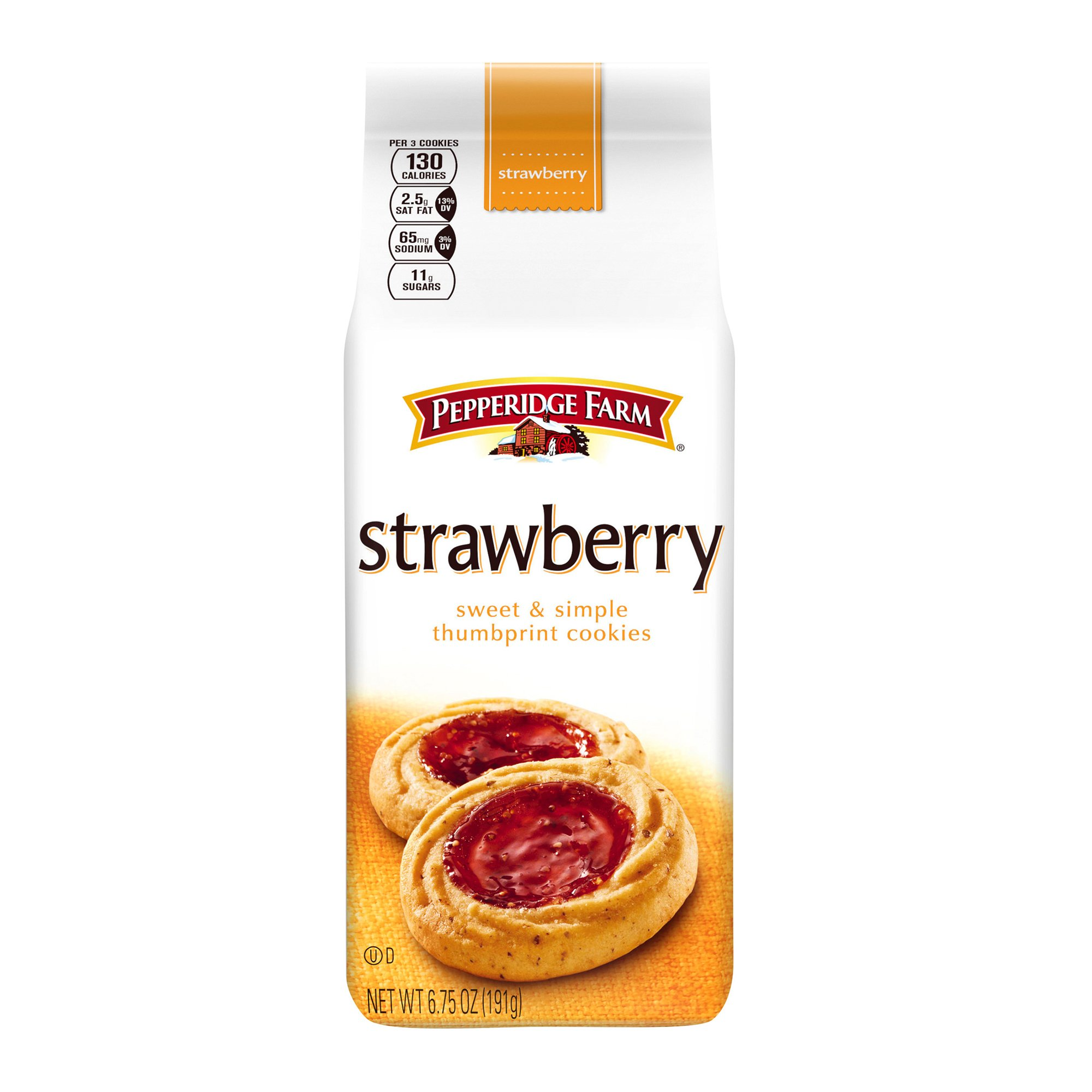 Pepperidge Farm Strawberry Thumbprint Cookies, 6.75 Ounce by Pepperidge Farm