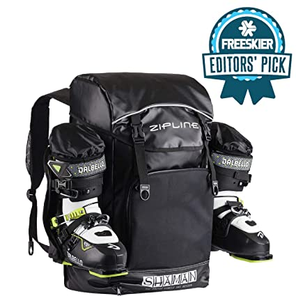 56a97fea8b Zipline World Cup Backpack – Skiing and Snowboarding Travel Luggage – Stores  Gear Including Jacket
