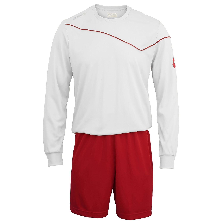 Full Kit Shirt /& Shorts Lotto Boys Football Sports Kit Long Sleeve Sigma