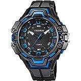 Calypso de hombre reloj de pulsera Sport analógico de cuarzo de reloj pu negro d1uk5687/1