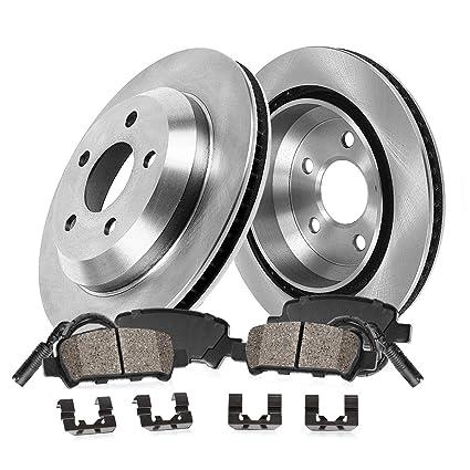 R Cross Drilled Rotores /& Ceramic Pads Para 2013-2015 Bmw X1 Xdrive 28i//Sdrive 28i F
