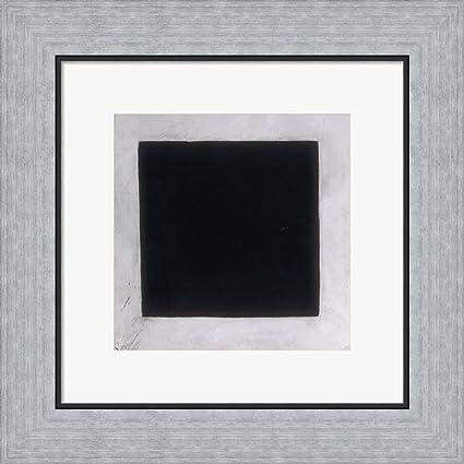 Amazon.com: Black Square, c 1923-30 by Kazimir Malevich Framed Art ...