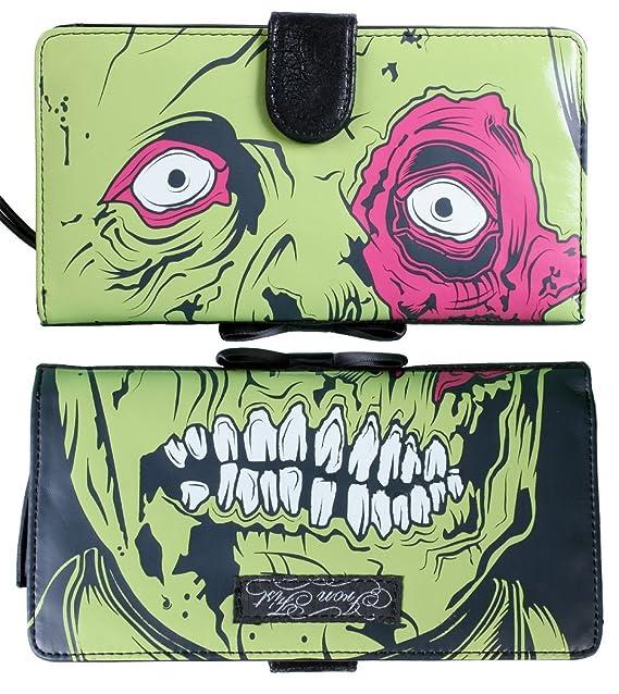 Puño de Hierro Dead Broke Zombie Chomper embrague bolso ...