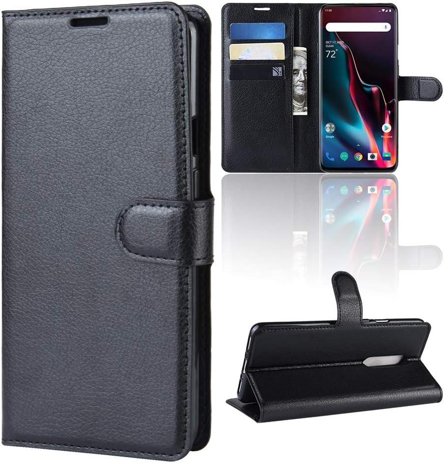 Funda para OnePlus 7 Pro Case Flip Cover Cartera con Ranura para ...