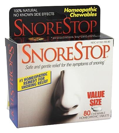 Snore Stop Chewable Snore Stop 80 Tabs