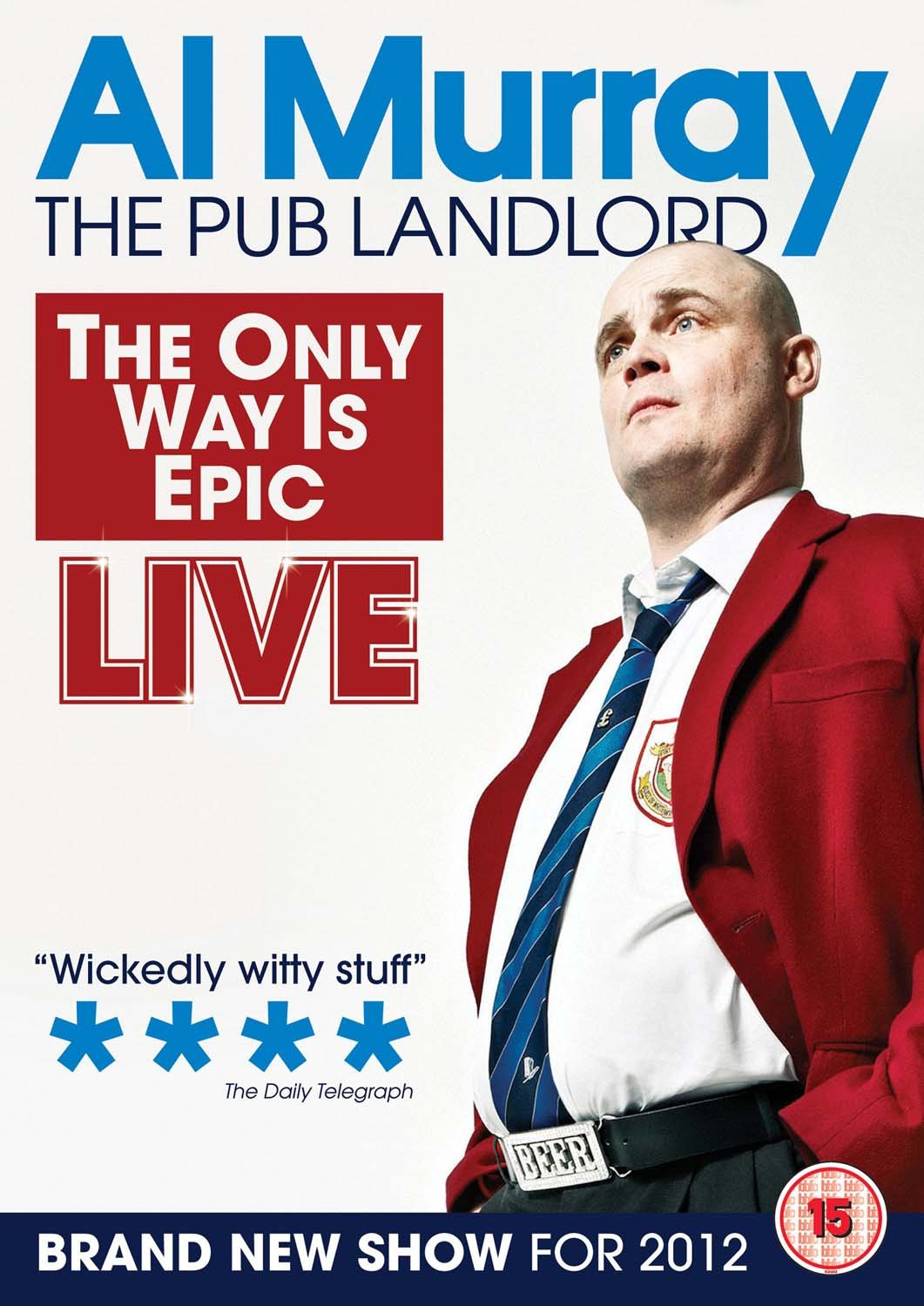 Al Murray: The Only Way Is Epic [DVD]: Amazon.co.uk: Al Murray: DVD ...