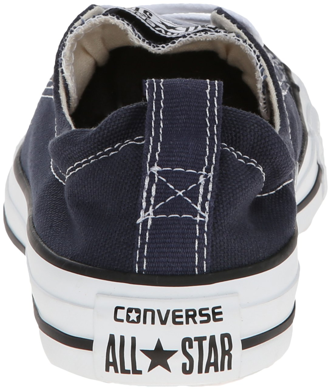 Converse Women's Shoreline Slip on Sneaker B01LYYMLQW Medium / 7 B(M) US|Athletic Navy