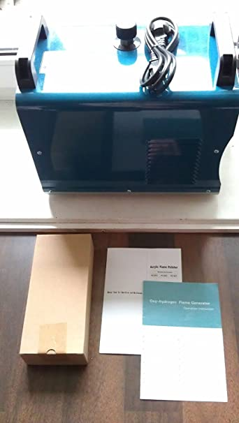 Portátil hidrógeno de oxígeno soldador llama agua pulidor pulido máquina H160 75L: Amazon.es: Bricolaje y herramientas