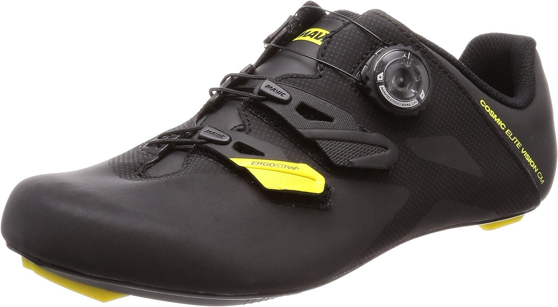 Mavic Cosmic Elite Vision cm Low Shoes Men Black 2019 Bike Shoes: Amazon.co. uk: Shoes & Bags