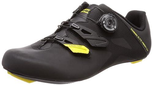 Mavic Cosmic Elite Vision cm Cycling Shoe - Mens Black/Yellow Mavic/Black,