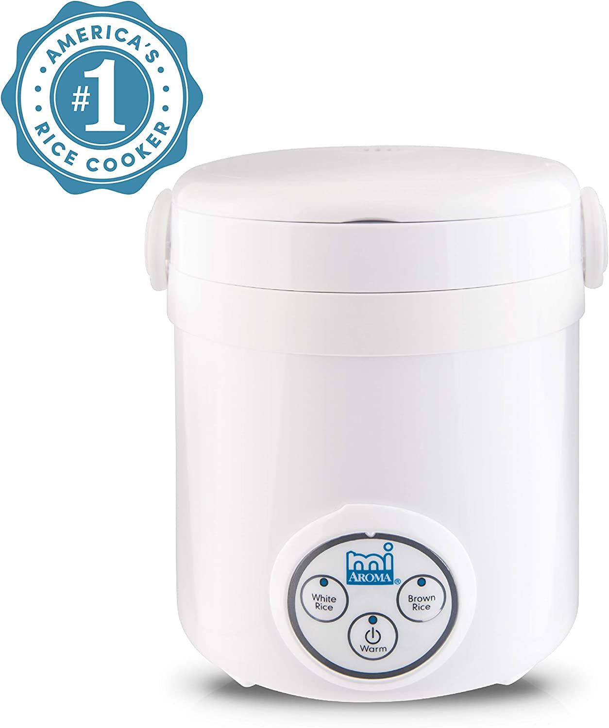 Aroma Housewares (MRC-903D) Mi 3-Cup (Cooked) (1.5-Cup UNCOOKED) Digital Cool Touch Mini Rice Cooker