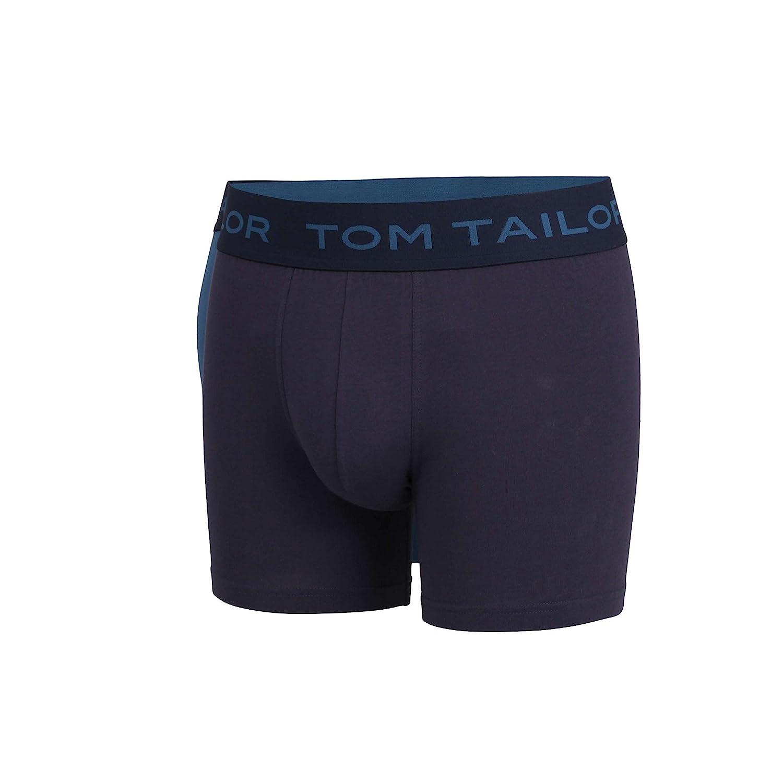 TOM TAILOR Herren Long-Pants blau Uni 2er Pack