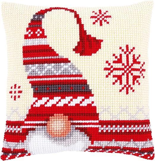 Amazon.com: Vervaco – Kit para cojín de duende de la Navidad ...