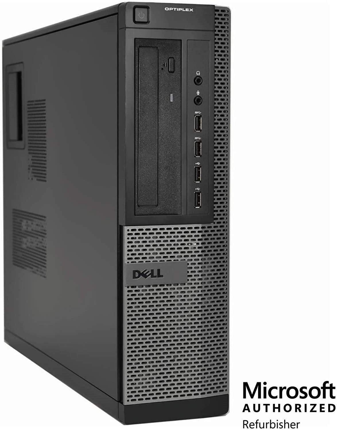 Dell Optiplex 9010 Desktop PC, 3.2 GHz Intel Core i5-3470, 16GB RAM, 2TB HDD, SSD, Monitor, Keyboard Mouse, WiFi, BT, DVD-RW, Windows 10 Renewed