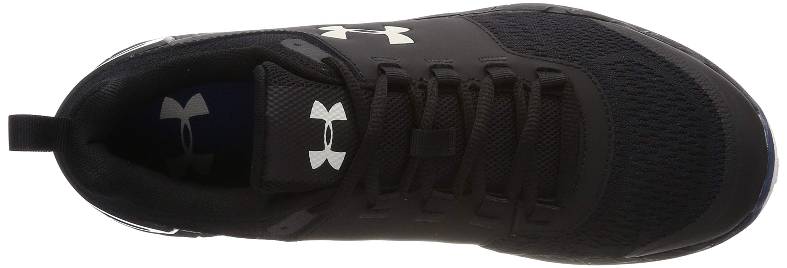 Under Armour Men's Commit TR EX Sneaker, Black (008)/Petrol Blue, 7.5 M US by Under Armour (Image #6)
