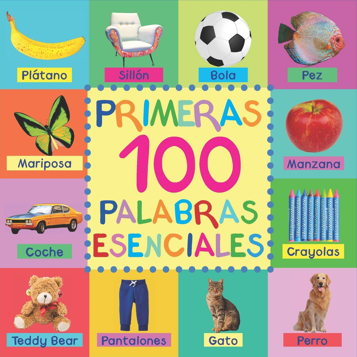 Primeras 100 Palabras Esenciales (Spanish Edition): Mary King: 9781723798856: Amazon.com: Books