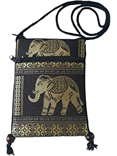 bd855bb495a3 Amazon.com: Nawoshow Bohemian Owl/Elephant Embroidered Pattern ...