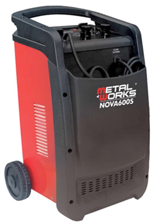 Cargador y arrancador de baterias 12v y 24v alta potencia N600S ...