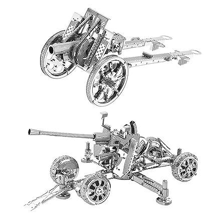Amazon.com: 2pcs Motu 3d metal nano Puzzle Reino Unido ...