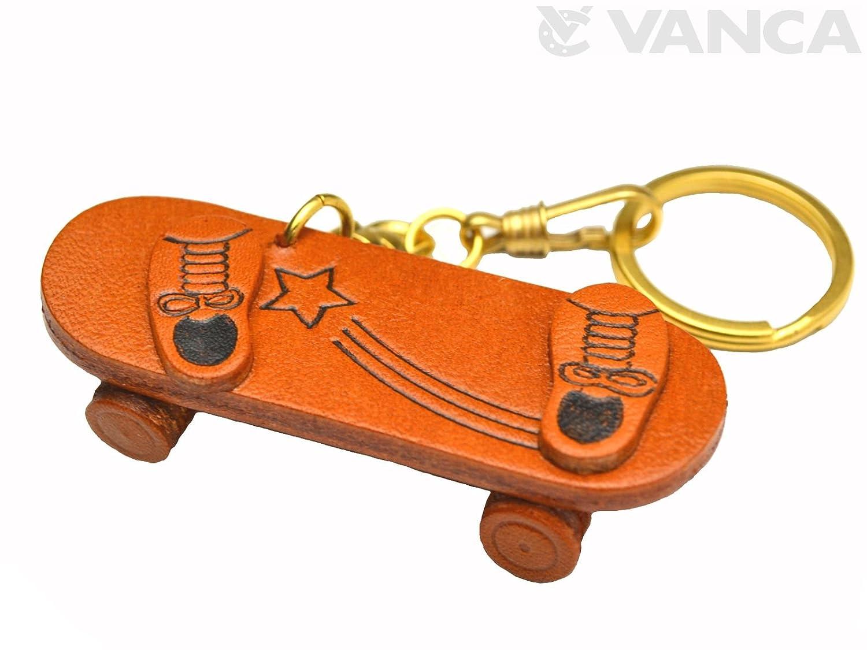 Skate Board deportes 3d piel llavero (L) VANCA craft ...
