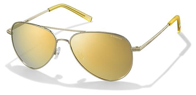 Polaroid PLD 6012/N LM J5G 62 Gafas de sol, Dorado (Gold/Brown), Unisex Adulto