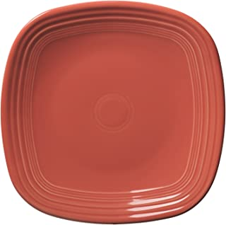 product image for Fiesta 10-3/4-Inch Square Dinner Plate, Flamingo