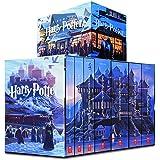 哈利波特15周年十五周年 纪念美版 1-7 英文版原版 畅销书 harry potter 全套精装版 全英全集 JK 罗琳 魔法石原著小说哈里波特