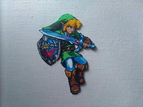 Sprite The Legend Of Zelda Link Hama Beads Pixel Art