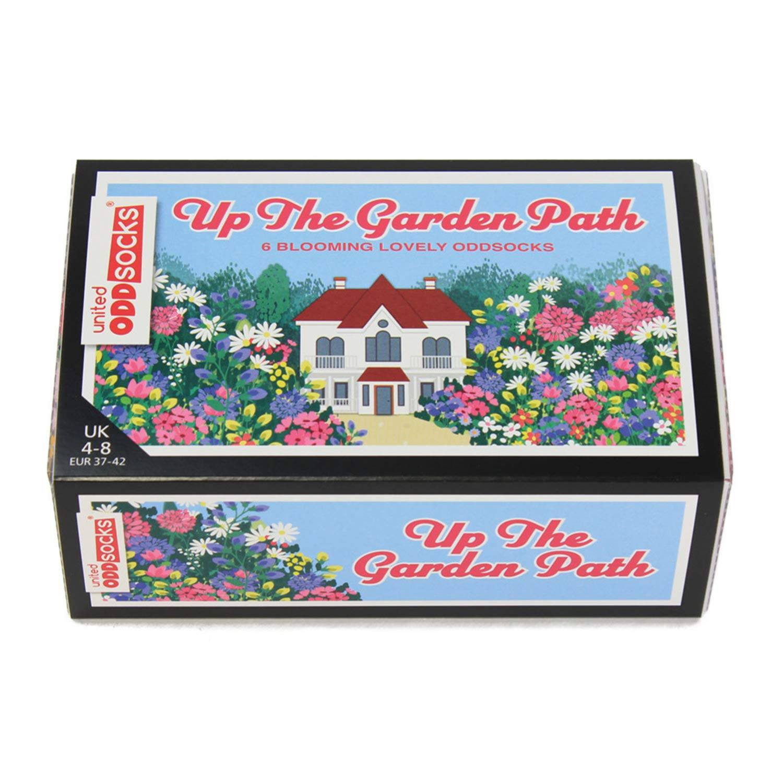 Calzini da donna confezione da 6 United Oddsocks Up The Garden Path