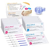 Ovulation and Pregnancy Test Strips (HCG25-LH80), OPK Ovulation Predictor Kit Includes 25 Early Pregnancy Tests, 80…