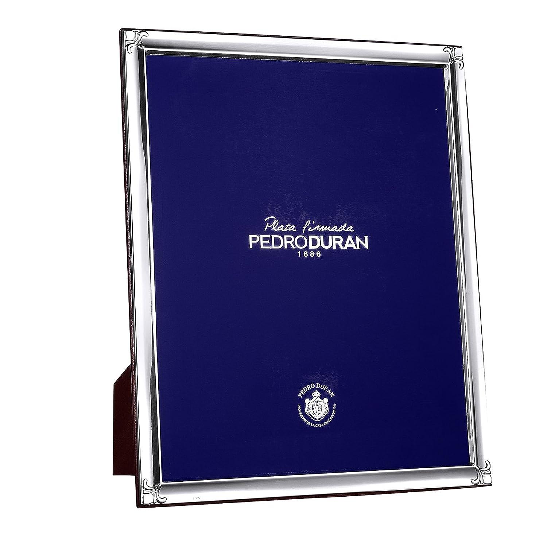 Rahmen 20 * 25 cm Duran Silber Gesetz
