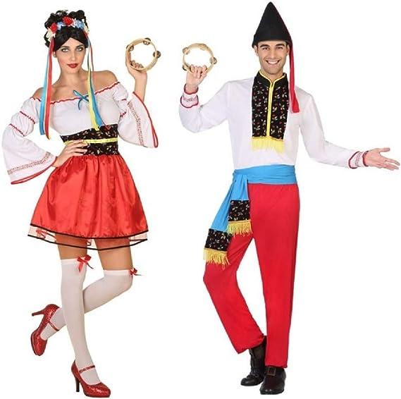 Fancy Me Disfraz de Carnaval Tradicional ucraniano para Parejas y ...