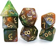 DND Dice Polyhedral 7-Die Dice Set for D&D Dungeons & Dragons Role Playing Gaming Ocean dice …