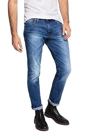 b5e8e72c375e5 edc by Esprit - Jeans - Slim Homme - Bleu - W32 L30  Amazon.fr ...