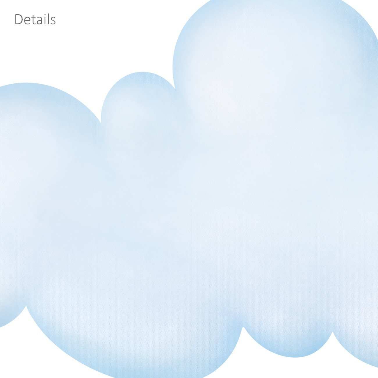Grandede DECOWALL DL-1713L Nubes y Arco Iris Vinilo Pegatinas Decorativas Adhesiva Pared Dormitorio Sal/ón Guarder/ía Habitaci/ón Infantiles Ni/ños Beb/és
