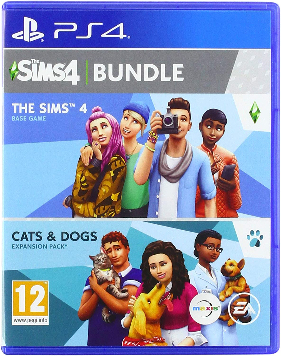 The Sims 4 Plus Cats and Dogs Bundle - PlayStation 4 [Importación ...