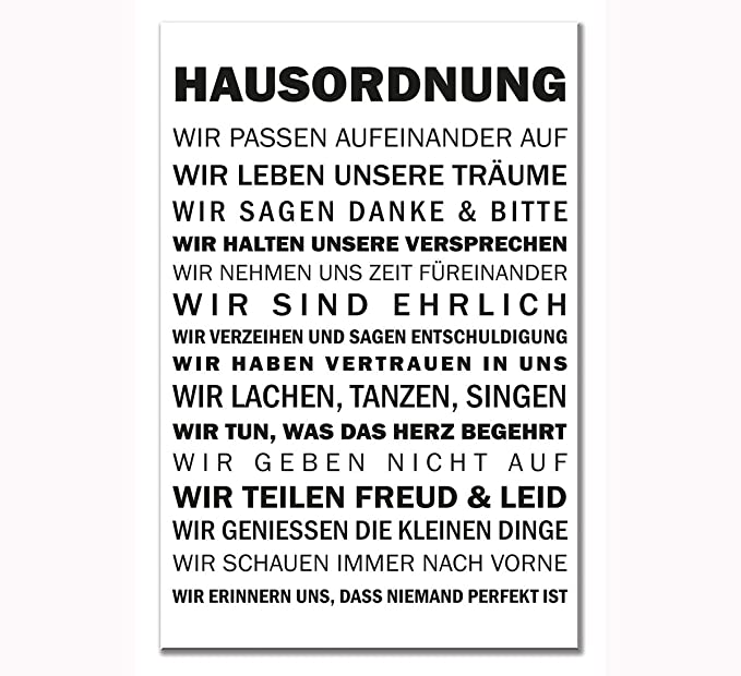 Shabby Plankenschild Dekoschild Wandschild Schild Landhaus Holz 60 x 30 cm