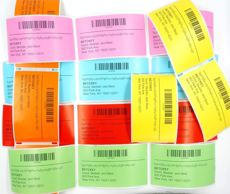 1 rotolo color label blue colore blu BETCKEY Etichette compatibile per Brother DK-11202 60mm x 100mm per P Touch: QL1050 QL1060N QL500 QL550 QL560 QL570 QL580N QL700 QL710W QL720NW QL-1100