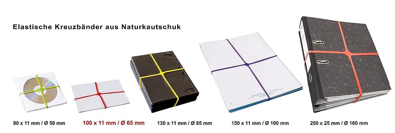 PASSATOIA Rondella X della band elastico Confezione 30 g Gr/ö/ßen sortiert
