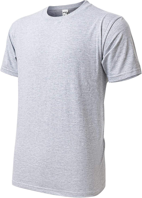 AGUTIUN Mens Performance Short Sleeve T Shirt Moisture Wicking Quick Dry Active Athletic T-Shirts