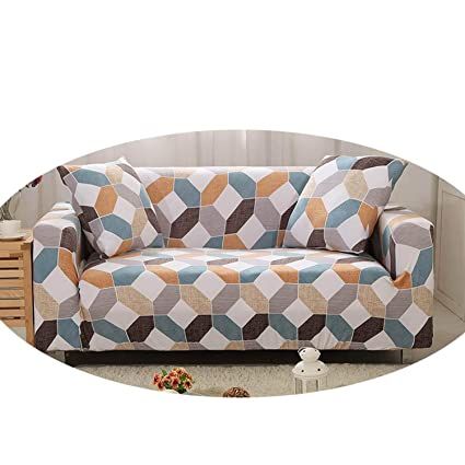 Amazon.com: Sofa Cover Elastic Couch Cover Funda Sofa L ...