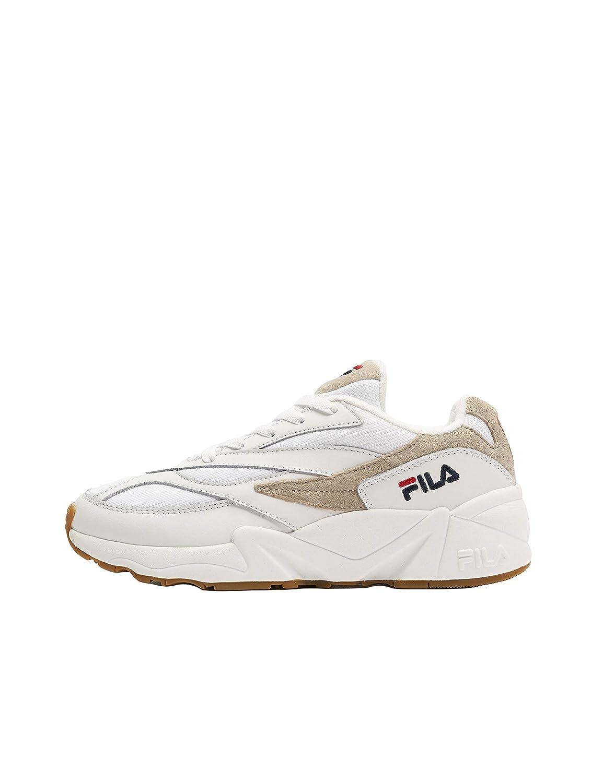 Fila - Chaussures Basket Mode - Venom Low Wnm - Blanc/Bleu/Rouge