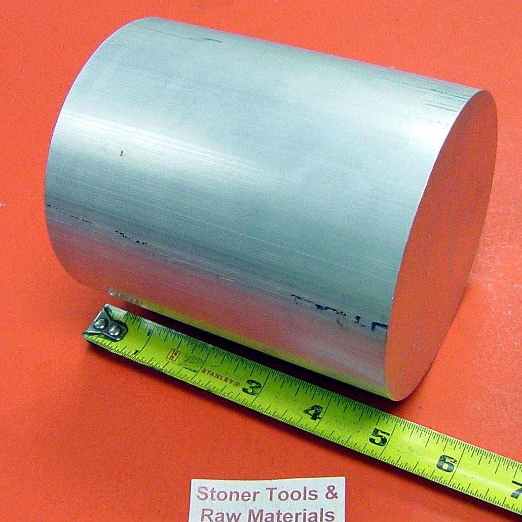 4-1//2 ALUMINUM 6061 ROUND ROD 5 LONG T6511 4.5 Diameter Solid Lathe Bar Stock
