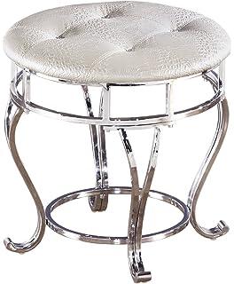 pin furniture tracy america with wood veneer silver of stool vanity