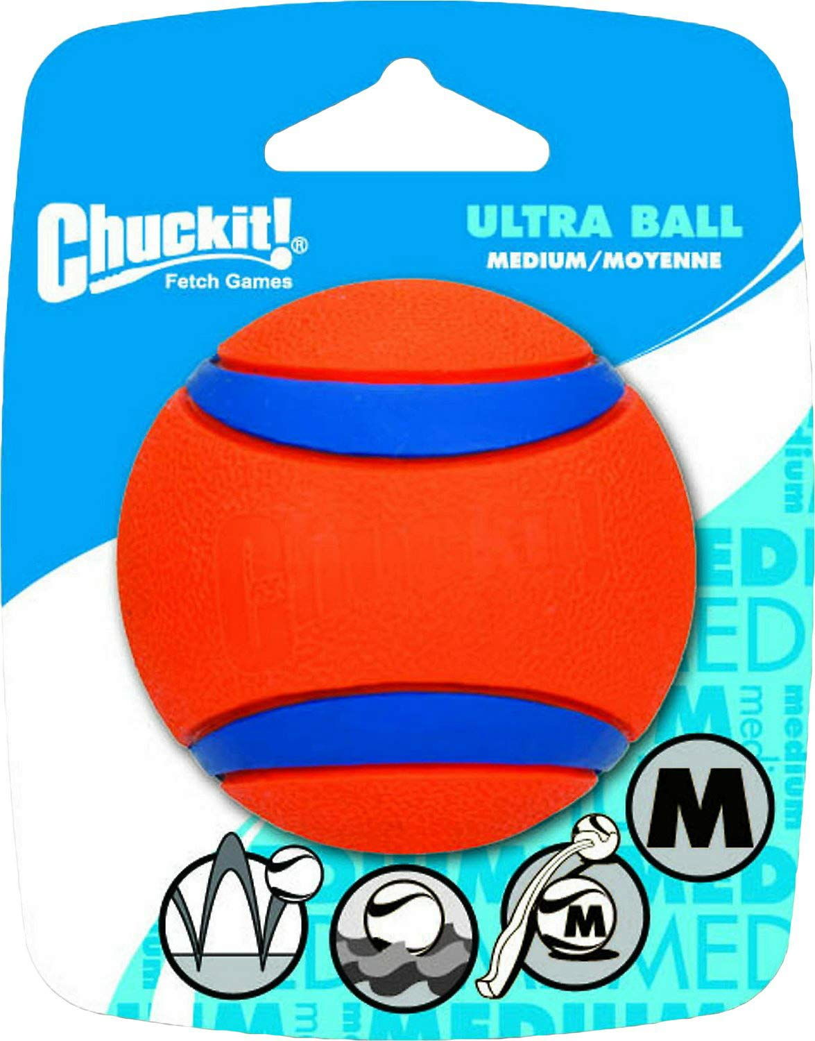 Chuckit! Ultra Ball Dog Toy, Medium, 24 Pack