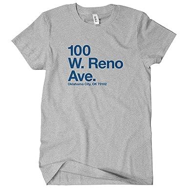 Smash Transit Women s Oklahoma City Basketball Stadium T-Shirt - Heather  Gray e90efbf932