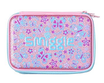 official photos a30e0 76f10 Smiggle Pencil Case Hardtop Double-Up 'Bizz' (Pink)