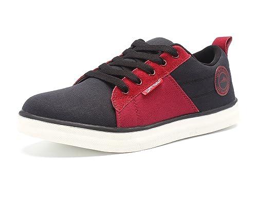 Demon&Hunter WA-OI Series Hombre Moda Sneaker Zapatillas A402158R(EU 40/Etiqueta 40